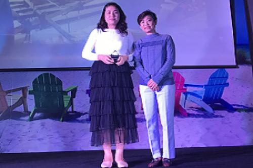 Công Ty Kim Sa Nhận Giải Thưởng Đối Tác Tăng Trưởng Năm 2018